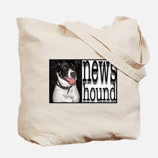 newshound tote bag