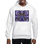 Purple Butterfly Hooded Sweatshirt