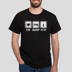 Eat Sleep Play Dark T-Shirt