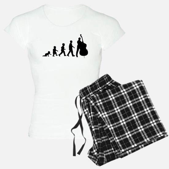 Double Bassist Evolution Pajamas