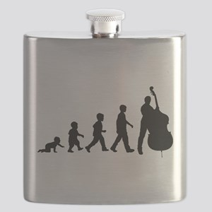 Double Bassist Evolution Flask