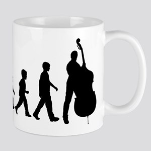 Double Bassist Evolution Mug
