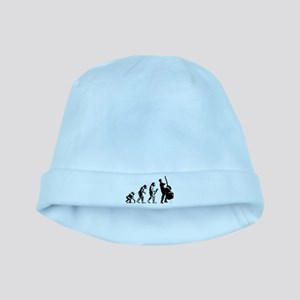 Double Bassist Evolution baby hat