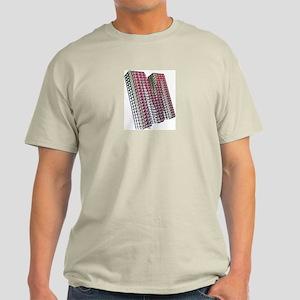 Glamor Brooch M Ash Grey T-Shirt