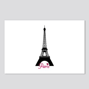 J'adore la France Postcards (Package of 8)