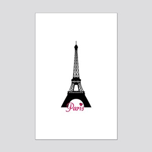 J'adore la France Mini Poster Print