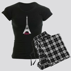 Paris Women's Dark Pajamas