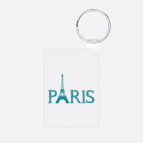 Paris Keychains