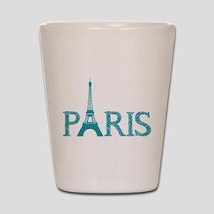 Paris Shot Glass