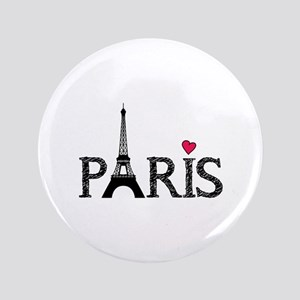 "Paris 3.5"" Button"