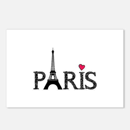 Paris Postcards (Package of 8)