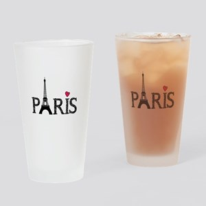 Paris Drinking Glass
