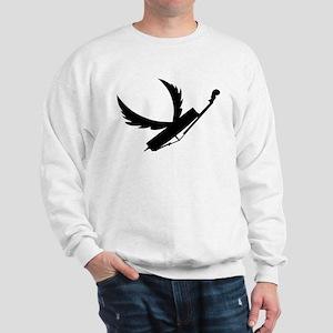 Flying Double Bass Sweatshirt