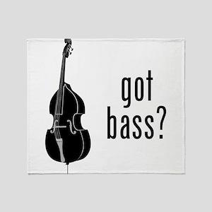 Got Bass? Throw Blanket