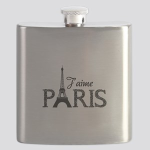 J'aime Paris Flask