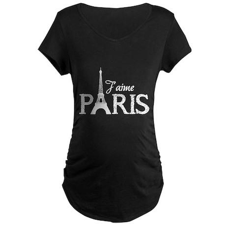 J'aime Paris Maternity Dark T-Shirt