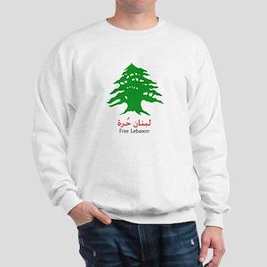 Lebanon Tree and the Israeli Sweatshirt