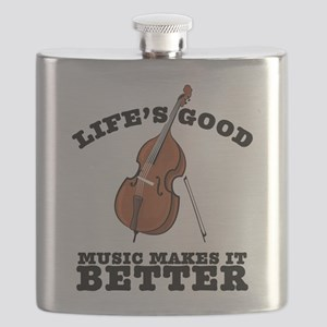 Music Makes Life Better Flask