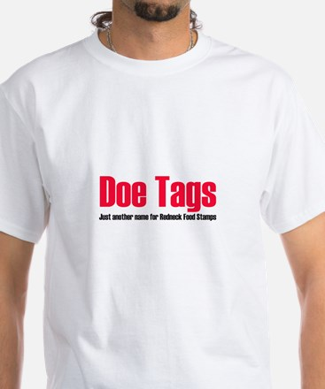 Doe Tags White T-Shirt
