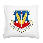 Air Combat Command Square Canvas Pillow
