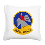 964th AWACS Square Canvas Pillow