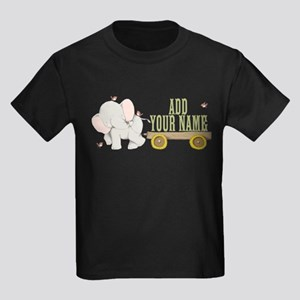 PERSONALIZED Cute Elephant Cart T-Shirt