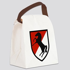 11th Armored Cavalry Canvas Lunch Bag