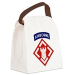 20th Engineer Canvas Lunch Bag