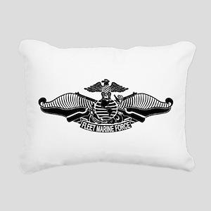 Fleet Marine Force Rectangular Canvas Pillow