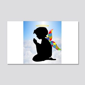 Autism Angel 20x12 Wall Decal