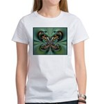 Aqua Butterfly Women's T-Shirt