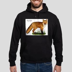 Red Fox Hoodie (dark)