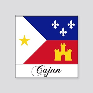 Cajun Flag Rectangle Sticker
