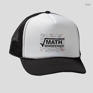 Math Whisperer Kids Trucker hat