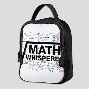 Math Whisperer Neoprene Lunch Bag
