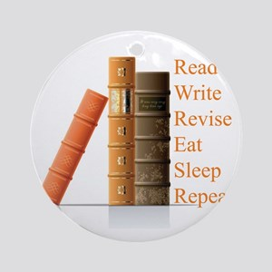 How to be a writer Ornament (Round)