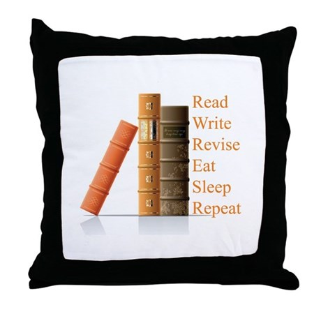 How to be a writer Throw Pillow