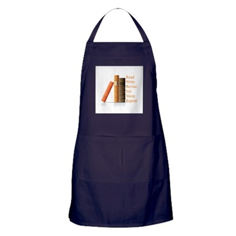 How to be a writer Apron (dark)