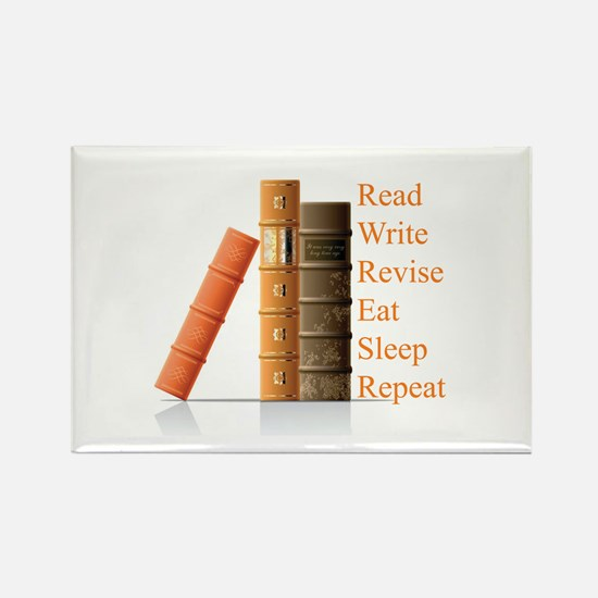 How to be a writer Rectangle Magnet