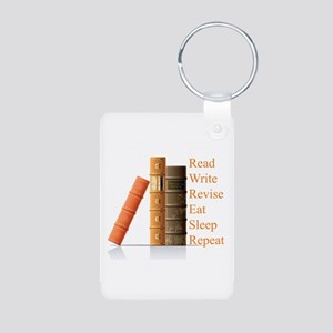 How to be a writer Aluminum Photo Keychain