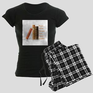 How to be a writer Women's Dark Pajamas