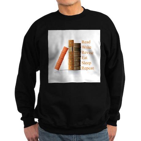 How to be a writer Sweatshirt (dark)