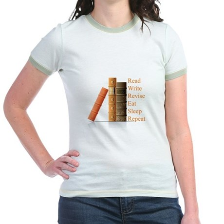 How to be a writer Jr. Ringer T-Shirt