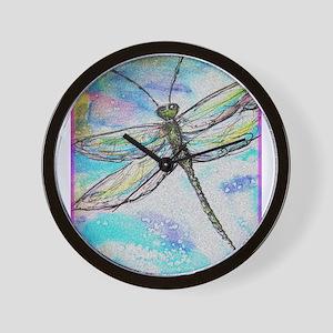 Dragonfly! Nature art! Wall Clock