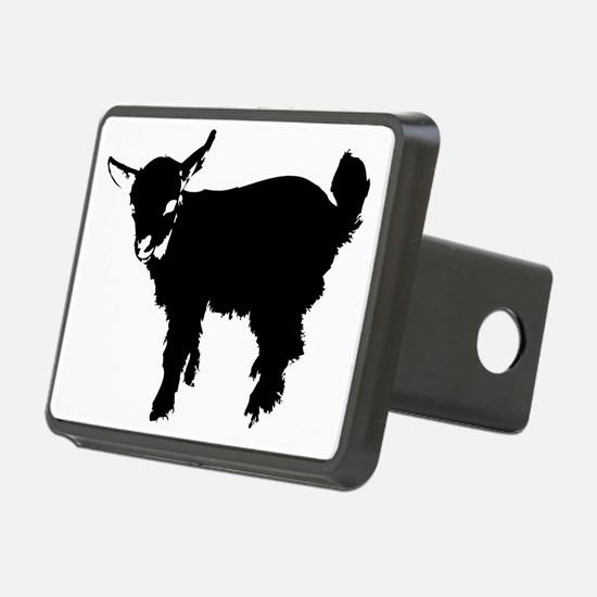 Black Baby Goat Hitch Cover