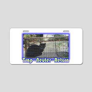 Trap Neuter Return Aluminum License Plate