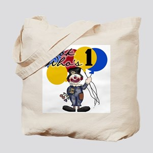 Circus 1st Birthday Tote Bag