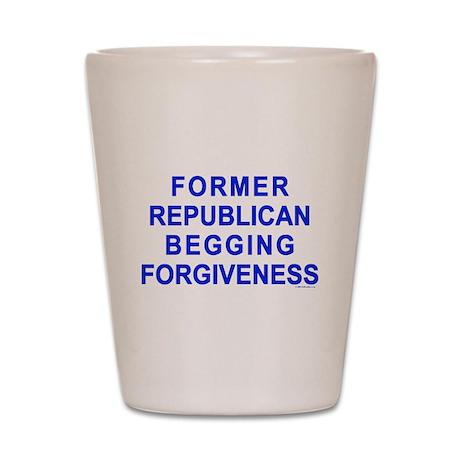 Former Republican Shot Glass