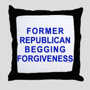 Former Republican Throw Pillow
