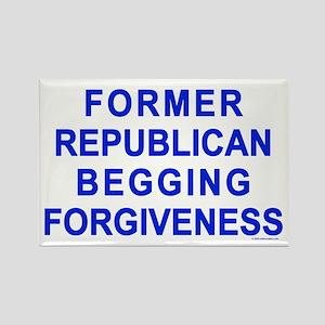 Former Republican Rectangle Magnet